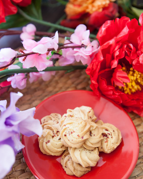 Photo of CNY Lychee Rose Cookie